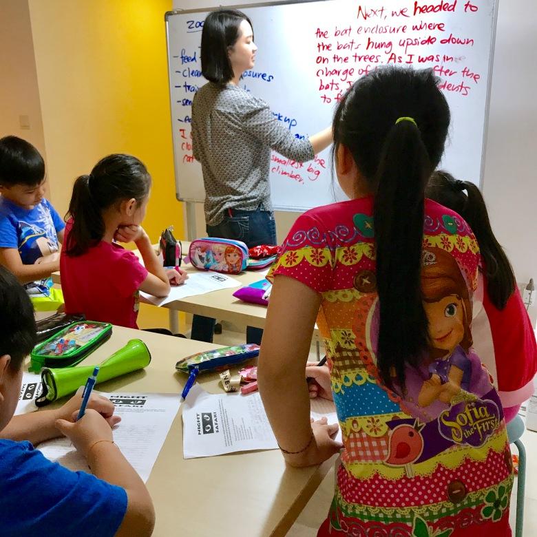 Marina Bay English Creative Writing Primary Pri 1,2,3,4,5,6 PSLE MOE Syllabus Small Group Tuition with qualified tutors